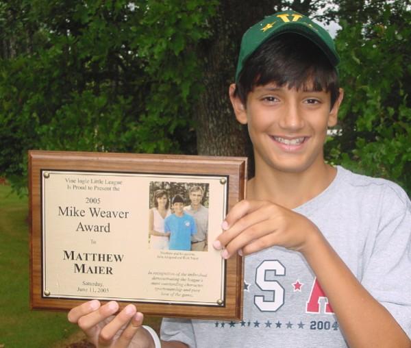2005: Matthew Maier