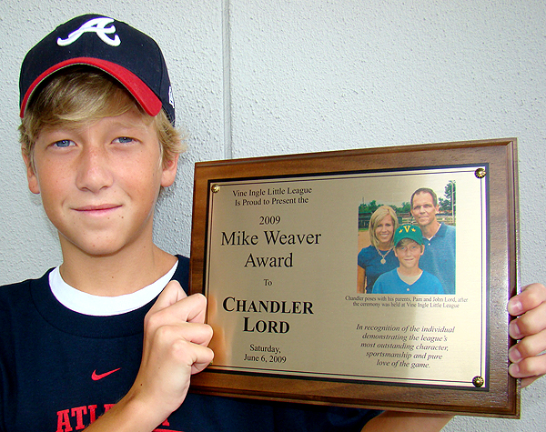 2009: Chandler Lord