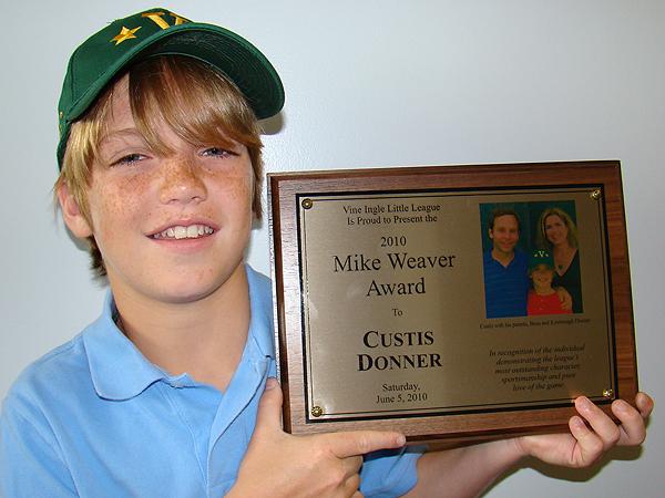 2010: Custis Donner